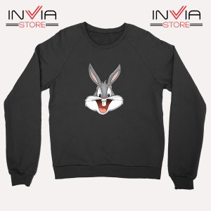 Buy Sweatshirt Bugs Bunny Looney Tunes Sweater Size S-XL Black