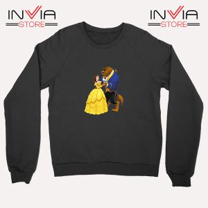 Buy Sweatshirt Disney Beauty And The Beast Sweater Size S-XL Black