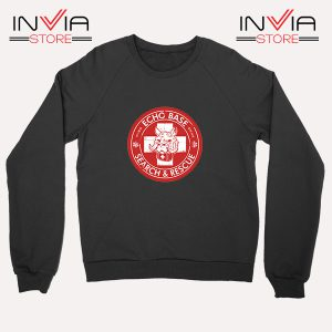 Buy Sweatshirt Echo Base Search And Rescue Sweater Size S-XL Black