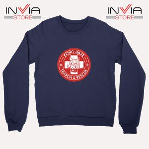 Buy Sweatshirt Echo Base Search And Rescue Sweater Size S-XL Navy