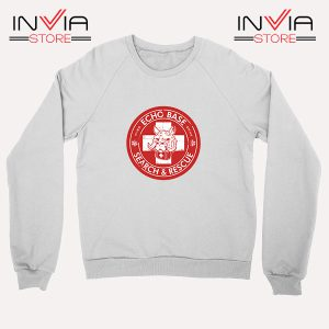 Buy Sweatshirt Echo Base Search And Rescue Sweater Size S-XL White