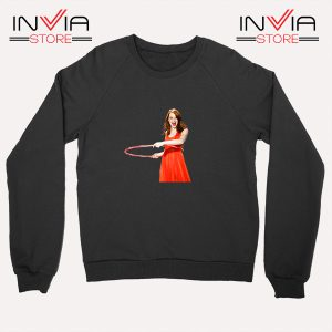 Buy Sweatshirt Emma Stone Never Watch Sweater Size S-XL Black