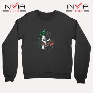 Buy Sweatshirt Joker Venom DC Parody Sweater Size S-XL Black