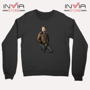 Buy Sweatshirt Leonardo DiCaprio Inspired by Actor Size S-XL Black
