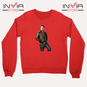 Buy Sweatshirt Leonardo DiCaprio Inspired by Actor Size S-XL Red
