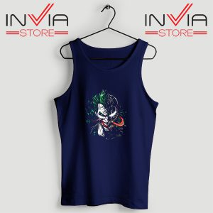 Buy Tank Top Joker Venom DC Parody Custom Size S-XL Navy
