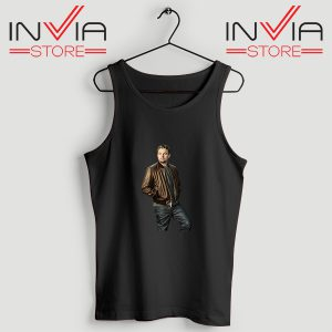 Buy Tank Top Leonardo DiCaprio Inspired by Actor Size S-XL Black