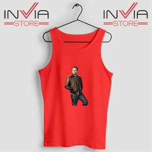 Buy Tank Top Leonardo DiCaprio Inspired by Actor Size S-XL Red
