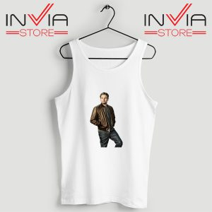Buy Tank Top Leonardo DiCaprio Inspired by Actor Size S-XL White