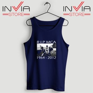 Buy Tank Top Rip Mca Check Your Head Beastie Boys Size S-XL Navy