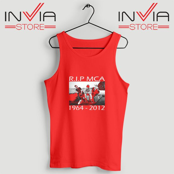Buy Tank Top Rip Mca Check Your Head Beastie Boys Size S-XL Red