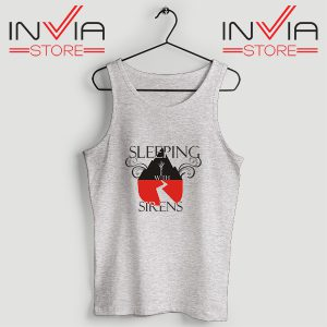 Buy Tank Top Sleeping With Sirens Band Custom Size S-XL Grey