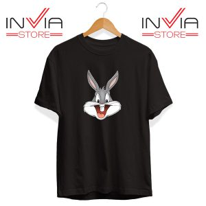 Buy Tshirt Bugs Bunny Looney Tunes Tee Shirt Size S-XL Black
