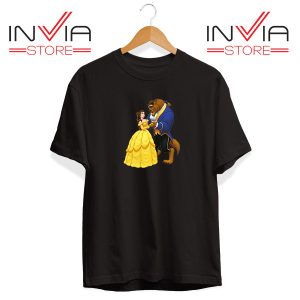 Buy Tshirt Disney Beauty And The Beast Tee Shirt Size S-XL Black