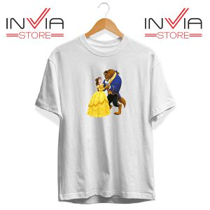 Buy Tshirt Disney Beauty And The Beast Tee Shirt Size S-XL White