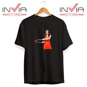 Buy Tshirt Emma Stone Never Watch Tee Shirt Size S-3XL Black