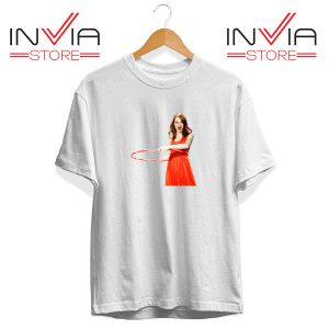 Buy Tshirt Emma Stone Never Watch Tee Shirt Size S-3XL White