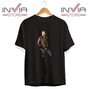 Buy Tshirt Leonardo DiCaprio Inspired by Actor Tee Shirt Size S-XL Black