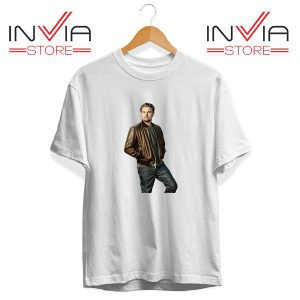 Buy Tshirt Leonardo DiCaprio Inspired by Actor Tee Shirt Size S-XL White