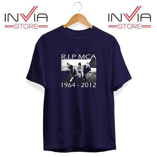 Buy Tshirt Rip Mca Check Your Head Beastie Boys Size S-3XL Navy