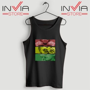 Buy Tank Top Blaze Rasta Girl Fassion Weed Custom Size S-XL Black