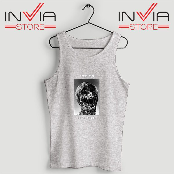 Buy Tank Top I Can See You Can You See Me Custom Size S-XL Grey