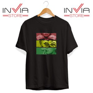 Buy Tshirt Blaze Rasta Girl Fassion Weed Tee Shirt Size S-XL Black