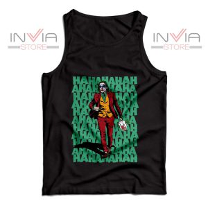 Buy Tank Top Hahahaha Joker Custom Size S-XL Black