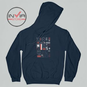 Best Hoodie Korean Blurryface Twenty One Pilots Adult Unisex Navy