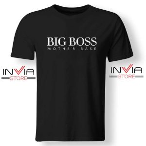 Big Boss Mother Base Day TShirt Funny Size S-XL Black