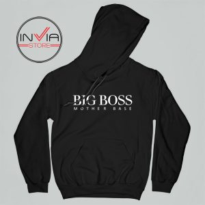 Big Boss Mother Gift Base Hoodie Funny Adult Unisex