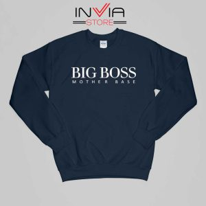 Big Boss Mother Gift Base Sweatshirt Funny Size S-XL NAvy
