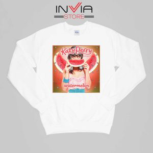 Buy Sweatshirt Katy Perry Watermelon Sweater Size S-XL White