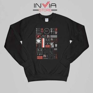 Buy Sweatshirt Korean Blurryface Twenty One Pilots Sweater Size S-XL Black