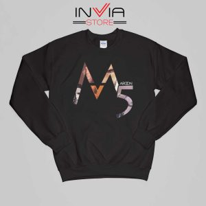 Buy Sweatshirt Maroon 5 Band M Five Sweater Size S-XL Black