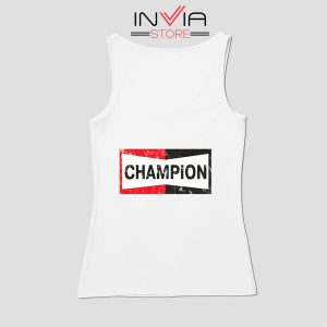 Buy Tank Top Champion Spark Vintage Champion Custom Size S-XL White