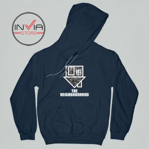 Flowers The Neighbourhood Band Hoodie Music Adult Unisex Navy