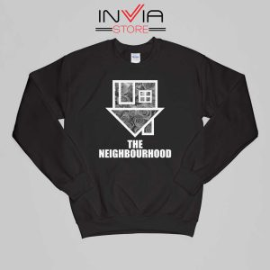 Flowers The Neighbourhood Band Sweatshirt Music Size S-XL Black