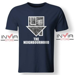 Flowers The Neighbourhood Band TShirt Music Size S-XL Navy