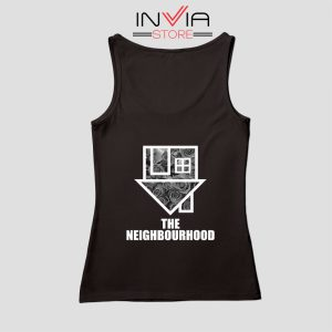 Flowers The Neighbourhood Band Tank Top Music Custom Size S-XL Black