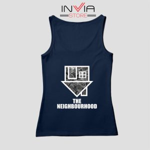Flowers The Neighbourhood Band Tank Top Music Custom Size S-XL Navy