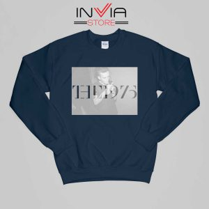 The 1975 Matt Healy Smoke Sweatshirt Buy Sweater Size S-XL Navy
