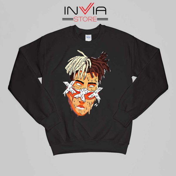 XXXTentacion Slice Poster Art Sweatshirt Celebrity Size S-XL Black