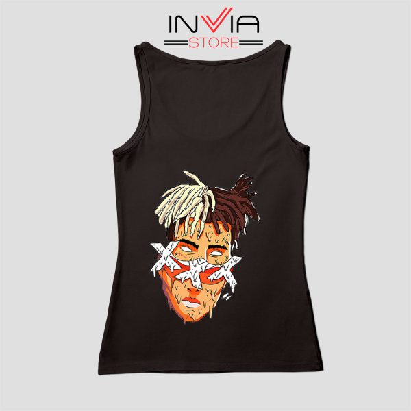 XXXTentacion Slice Poster Art Tank Top Celebrity Custom Size S-XL Black