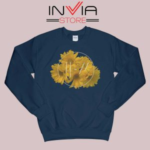 Flower Twenty One Pilot Sweatshirt Navy