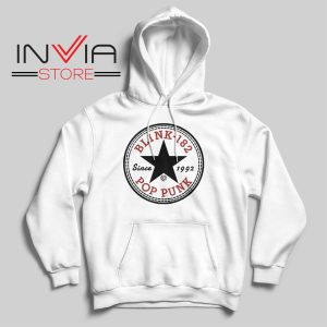 All Star Blink 182 Hoodie White