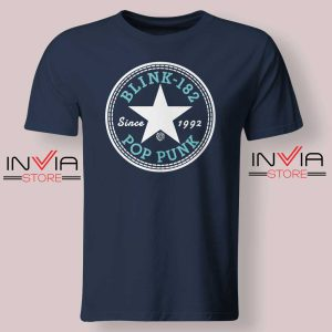 All Star Blink 182 Tshirt Navy