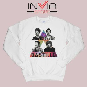 Bastille Pop Band Nebula Sweatshirt