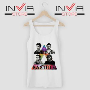 Bastille Pop Band Nebula Tank Top