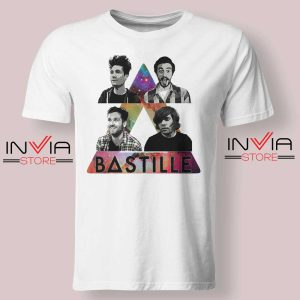 Bastille Pop Band Nebula Tshirt